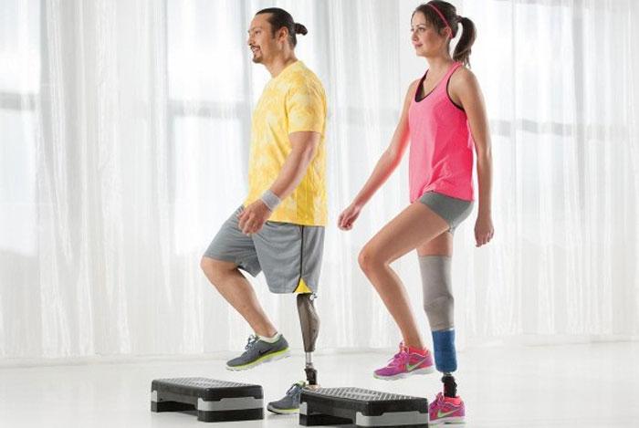 ورزش با پروتز بالای زانو امکان پذیر است؟